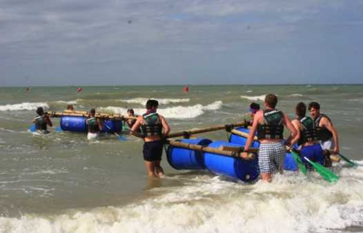 Battle of the Rafts west-vlaanderen