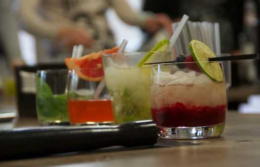 Cocktail Workshop aan zee
