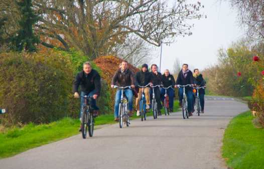 Fiets of mountainbike tocht Knokke-Heist