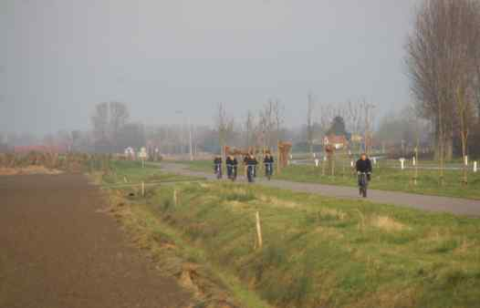 Fiets of mountainbike tocht west-vlaanderen