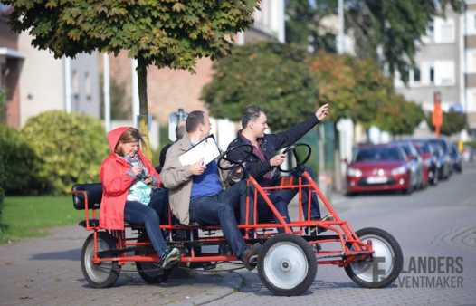 Quizetaxe rally / go-cart zoektocht  Blankenberge