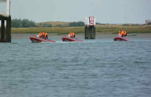 Wavekarting 2p per boot west-vlaanderen