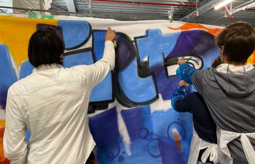Workshop Graffiti aan zee