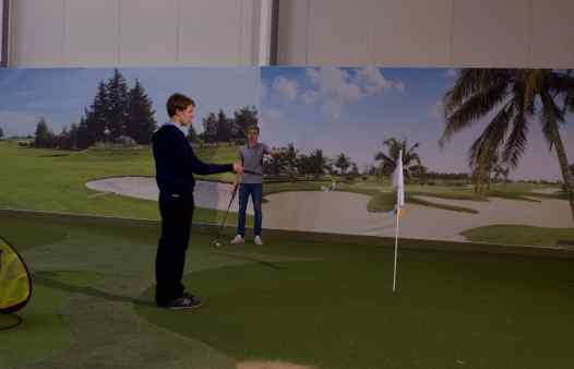 Indoorgolf kust