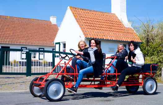 Quizetaxe rally / go-cart zoektocht  Oostende